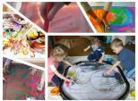 Messy Play Χρωμάτων στη Σβούρα