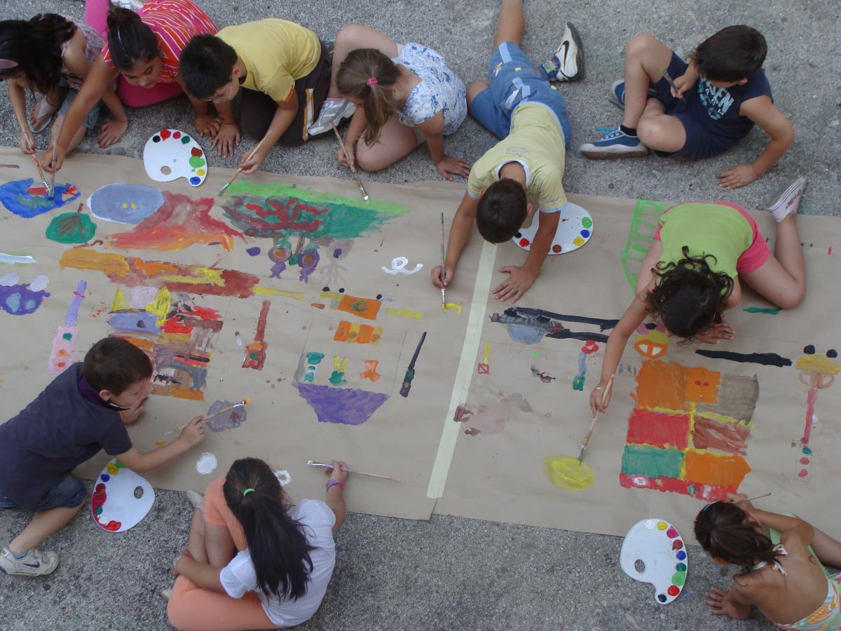 Γιάννενα: ΚΔΑΠ ΡΟΔΑ - Τα παιδιά παίζουν και μαθαίνουν με θέμα την άνοιξη